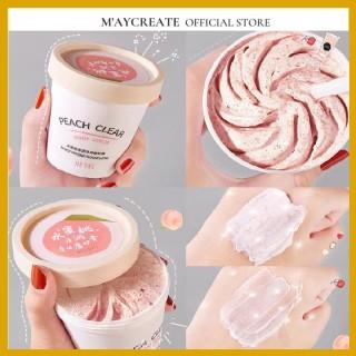 Tẩy Tế Bào Chết toàn thân đào HEYXI Peach Clear, tẩy tế bào chết body đào, kem thải độc tố da HTTBC1 thumbnail