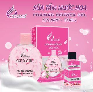 Sữa tắm hương nước hoa CHARMES 250ml (Tặng kèm nước hoa) thumbnail