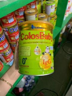 Sữa bột Colosbaby số 0+ lon 800g thumbnail