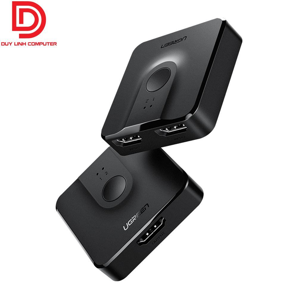 Giá Bộ gộp-chia HDMI 2 chiều Ugreen 50966 hỗ trợ 4K2K@30Hz