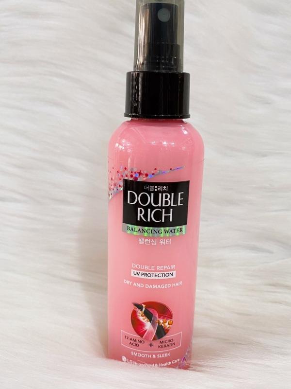Xịt dưỡng tóc Double Rich chăm sóc tóc hư tổn 120ml