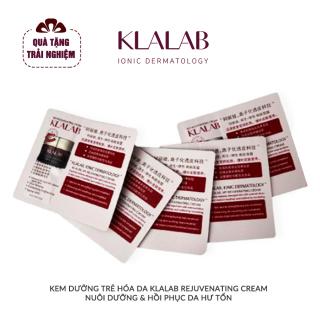 [GIFT] 5 Tuýp Kem dưỡng trẻ hóa da KLALAB Rejuvenating Cream nuôi dưỡng & hồi phục da hư tổn thumbnail