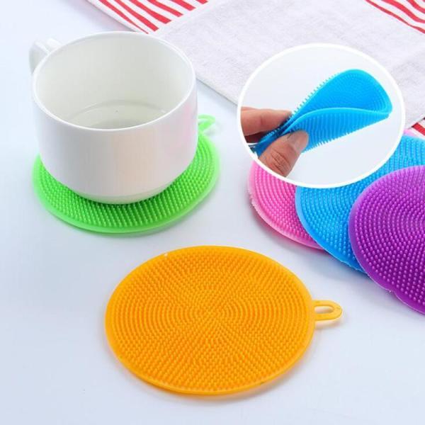 Miếng rửa chén dĩa silicon đa năng