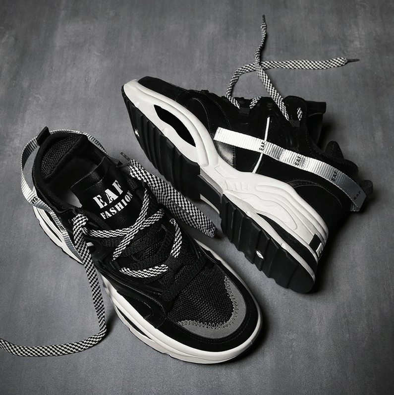 Deal Ưu Đãi Giày Thể Thao Sneaker Nam D65 đường May Tinh Tế, êm Và ôm Chân, đế Cao Su Dày Dặn, Phong Cách Trẻ Trung Thời Trang