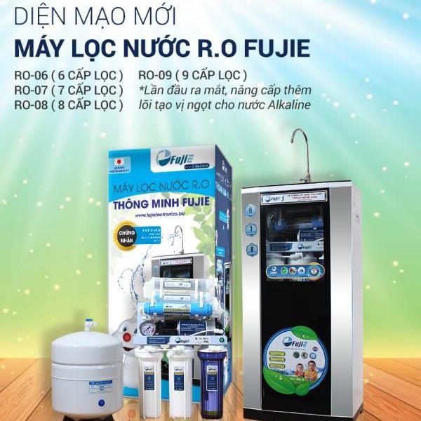 Máy lọc nước RO FujiE RO-09 ( 9 cấp lọc )không vỏ tủ