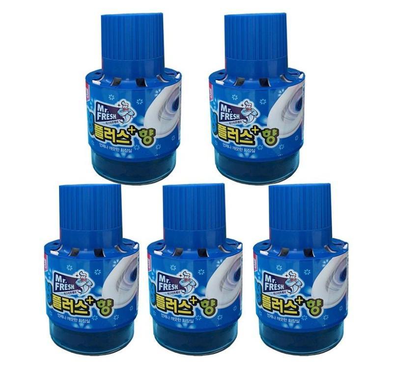 Bộ 5 Chai thả bồn cầu tự động làm sạch diệt khuẩn và làm thơm Mr.Fresh GTA139