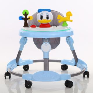 Xe tập đi khung tròn BLK-631 hình vịt ngộ nghĩnh cho bé, có khay đồ chơi phát nhạc và gấp gọn tiện lợi cho bé thumbnail