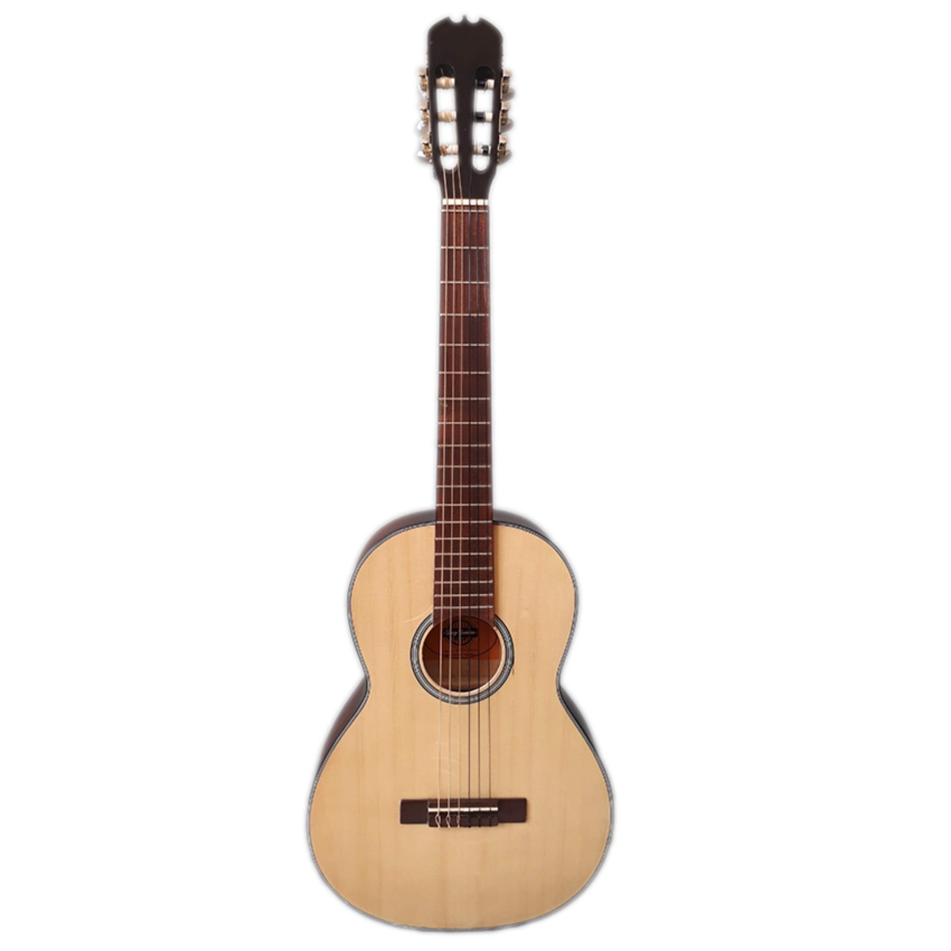 Đàn Guitar Classic mini đàn guitar classic size 3/4  DVE70C mini trẻ em - size 3/4 (màu gỗ) + Tặng Bao da
