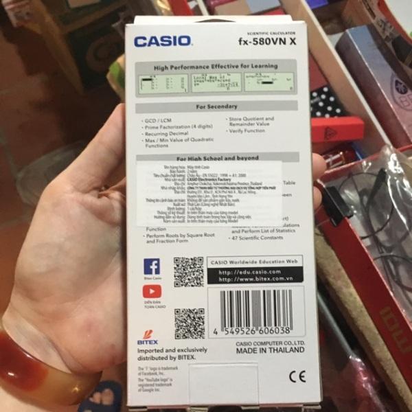 Mua [Máy tính Casio FX 580VN X Hàng chính hãng bảo hành 7 năm casio 580vnx
