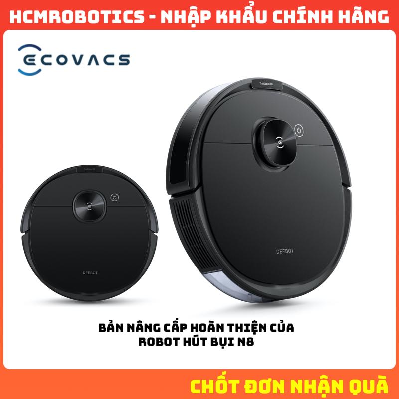 Robot hút bụi Ecovacs Deebot N8 PRO (Bản nâng cấp Robot hút bụi Ecovacs Deebot N8)