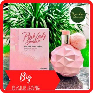 [TẶNG FREE 20K SHIP + QUÀ TẶNG]Sữa Tắm Xông Trắng Pink LaDy 300ml Hương Thơm Nước Hoa Siêu Trắng thumbnail