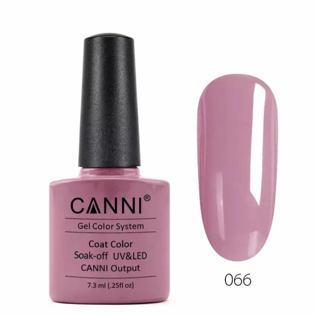 CANNI Gel Nail Color Coat 7.3ml (001-066) cao cấp