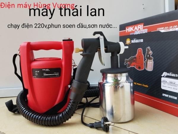 Máy phun sơn Hikari EP-8 madein Thái Lan,bình 800ml,phun sơn dâu, sơn nước, sơn sắt tiện dụng.