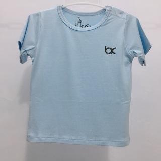 Áo tay ngắn cài vai Bexiu Bx Cotton Lạnh cao cấp cho bé 7-19kg thumbnail