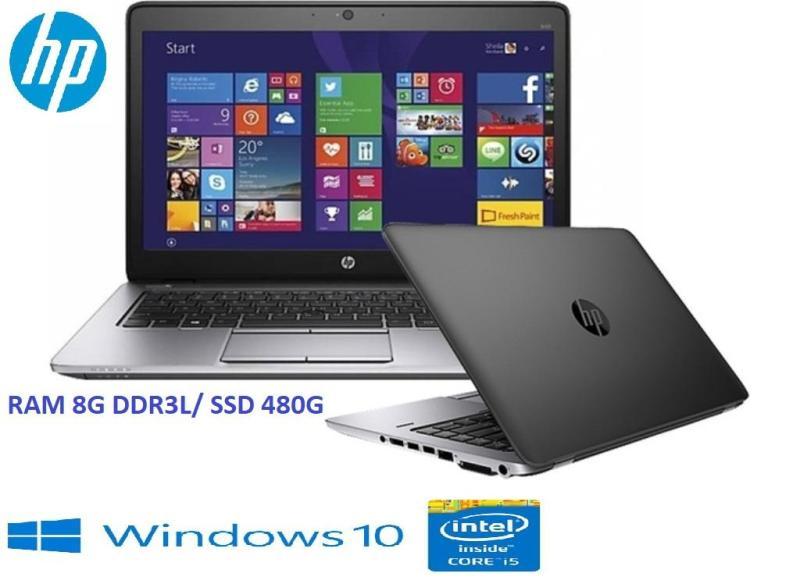 Laptop Doanh nhân mỏng nhẹ siêu nhanh HP Elitebook 840G1 Core i5 4300U RAM 8G SSD 480G 14in  1.7Kg- Hàng nhập khẩu-Tặng Balo, chuột không dây
