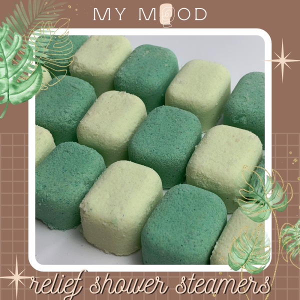 MY MOOD Relief shower steamers | Viên sủi tinh dầu Relief giá rẻ