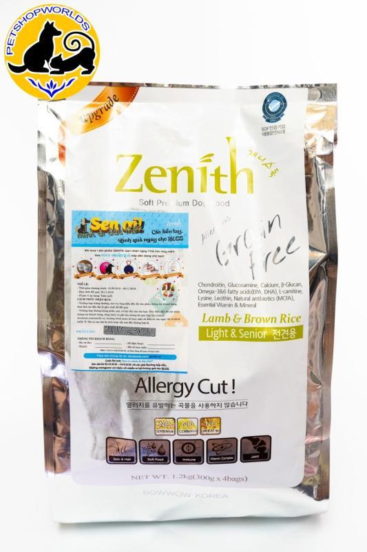 Thức ăn hạt mềm chó già Zenith 1.2kg