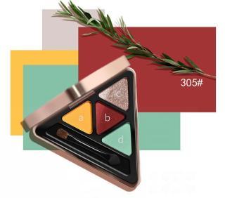 SHOPTIDO Phấn Mắt 4 ô Hold Live Time Color Eyeshadow Palette hàng nội địa Trung HL.309 thumbnail