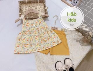 quần áo trẻ em bộ hoa xinh cho bé gái chất kate mềm mát nhẹ nhàng cho bé lên form cưc xinh thumbnail