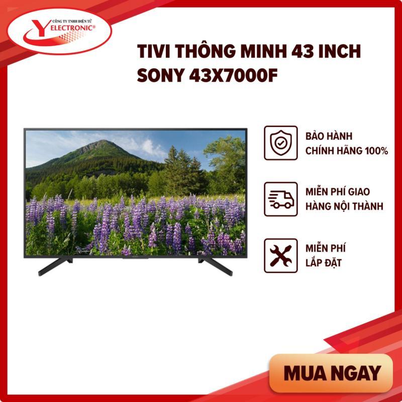 Bảng giá Tivi Thông Minh 43 Inch Sony 43X7000F