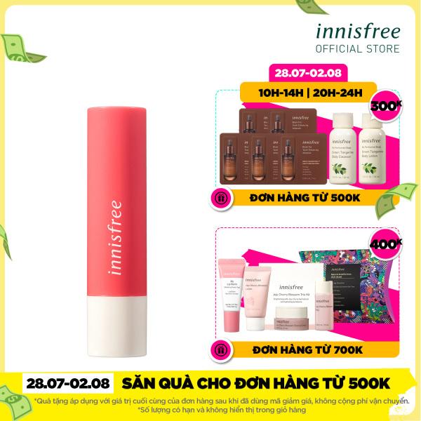 Son dưỡng có màu innisfree Glow Tint Lip Balm #2 3.5g
