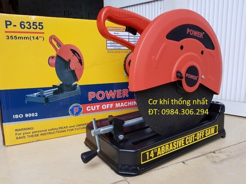 Máy cắt sắt Power 2000w P6355 máy cắt bàn