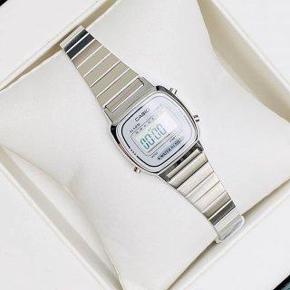 Đồng hồ nữ Casio LA670 full box máy Nhật chống nước, thanh lịch, cá tính, trẻ trung thumbnail