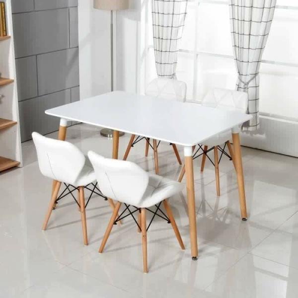 Ghế Eames cánh bướm bọc đệm , phủ da toàn bộ , Ghế cafe , ghế ăn , ghế văn phòng hiện đại giá rẻ