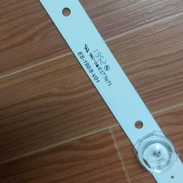 Bảng giá thanh led tivi asanzo 43inch 1 thanh 8 bóng