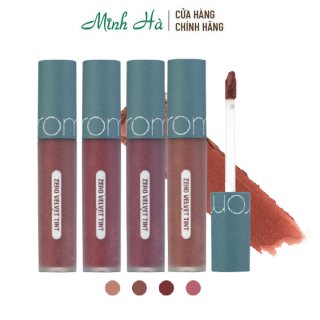 Son kem lỳ Romand Zero Velvet Tint - Vintage Filter Series 22 Grain Nude, 23 Vintage Taupe, 24 Fade Red, 25 Nerd Pink thumbnail