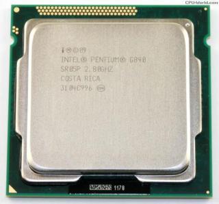 CPU G840 2.80 GHz, 3Mb thumbnail