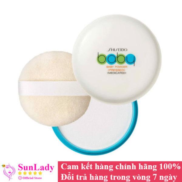 Phấn phủ kiềm dầu – phấn rôm Shiseido Baby Powder Pressed giá rẻ