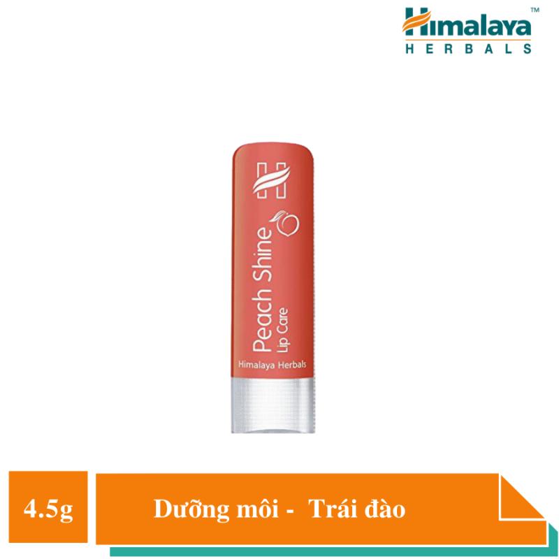 Son dưỡng ẩm hương đào - Himalaya Peach Shine Lip Care 4.5g giá rẻ