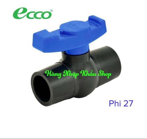Bảng giá Van khóa nước cao cấp Ecco phi 27 nhập khẩu từ Thái Lan
