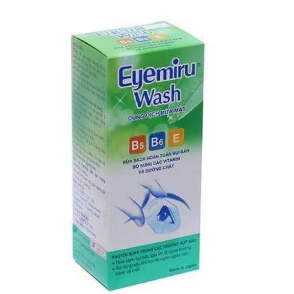 Dung Dịch Rửa Mắt Nhật Bản Eyemiru Wash : 500ml, date : 2021 giá rẻ