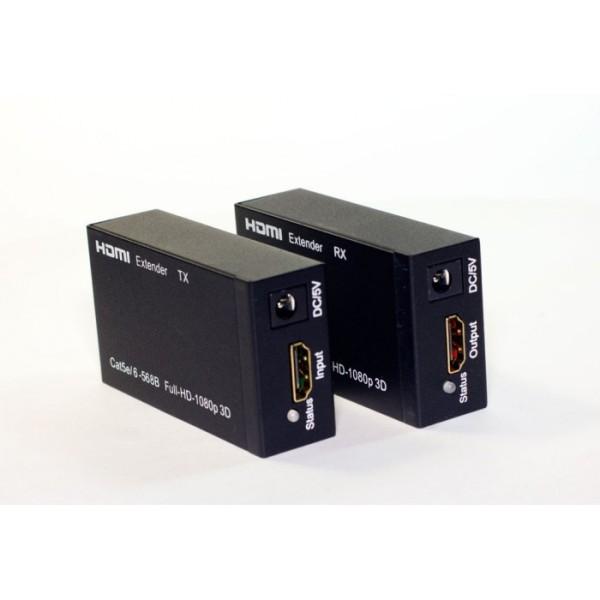 Bảng giá HD Extender 60m SFX (nối dài HDMI bằng dây lan 60m) cam kết sản phẩm đúng mô tả chất lượng đảm bảo Phong Vũ