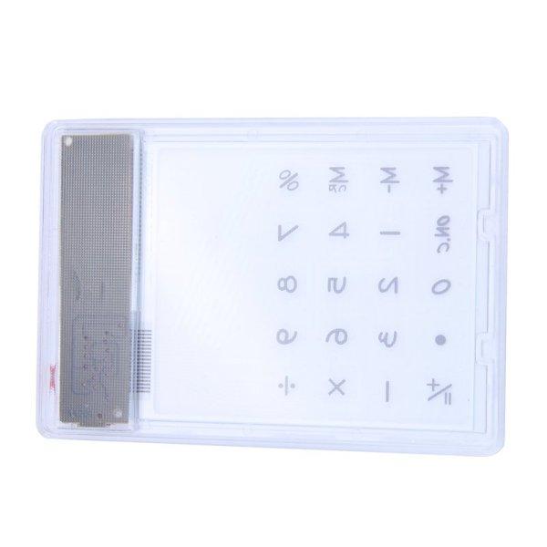 Mua Transparent Calculator Clear Scientific Calculator Solar Energy Led Calculator Creative Stationery White