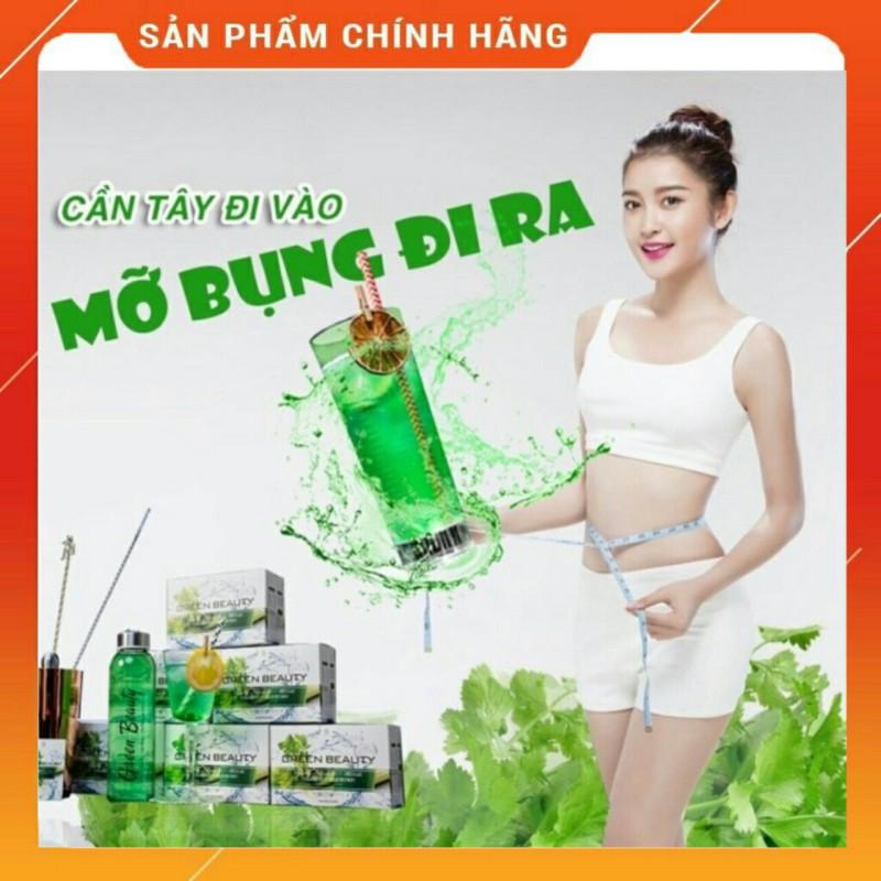 Chính hãng - Hộp 30 gói Green beauty thanh lọc cơ thể trẻ hóa làn giảm béo cao cấp