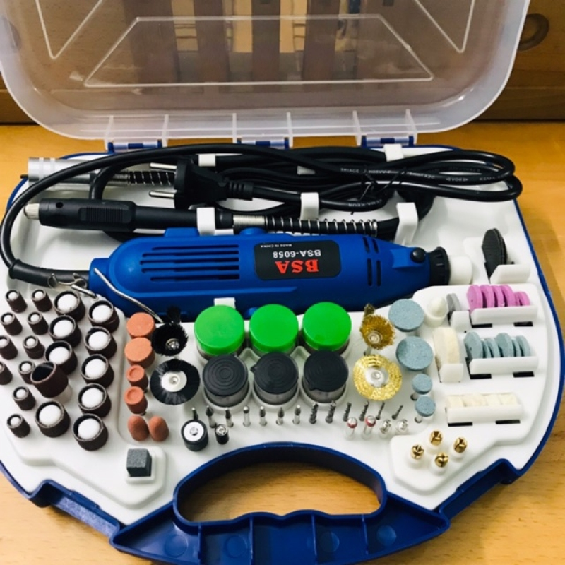 [RẺ VÔ ĐỊCH] Bộ máy mài cắt khắc mini tặng kèm bộ phụ kiện 100 món ( đánh bóng , Cắt , khắc , gia công , chế tác )