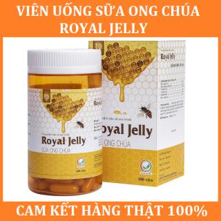 Viên Sữa Ong Chúa Royal Jelly - Đẹp Da, Chống Lão Hóa, Giảm nám (Hộp 100 viên) thumbnail