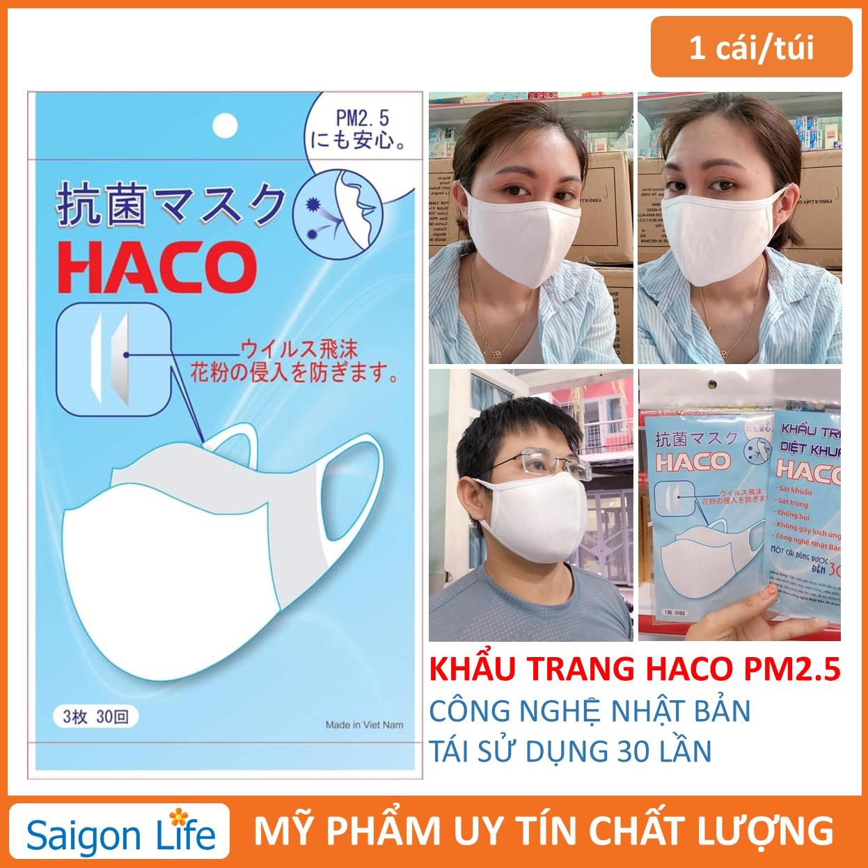 Khẩu trang kháng khuẩn PM2.5 nhập khẩu
