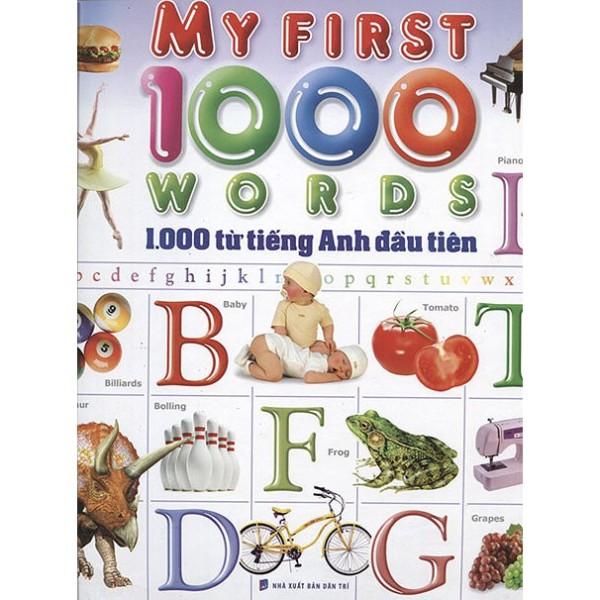 Cuốn sách 1000 Từ Tiếng Anh Đầu Tiên (Minh Long) - Tác giả: Việt Phước
