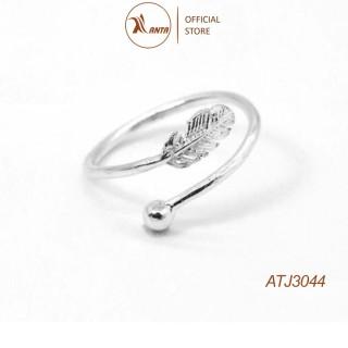Nhẫn nữ Kiểu dáng thiết kết Lông Vũ đơn giản xinh xắn cho nữ ANTA Jewelry - ATJ3044 thumbnail