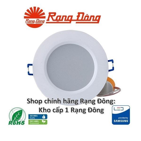 5 Đèn LED âm trần Rạng Đông 5W Փ90, SAMSUNG chipLED