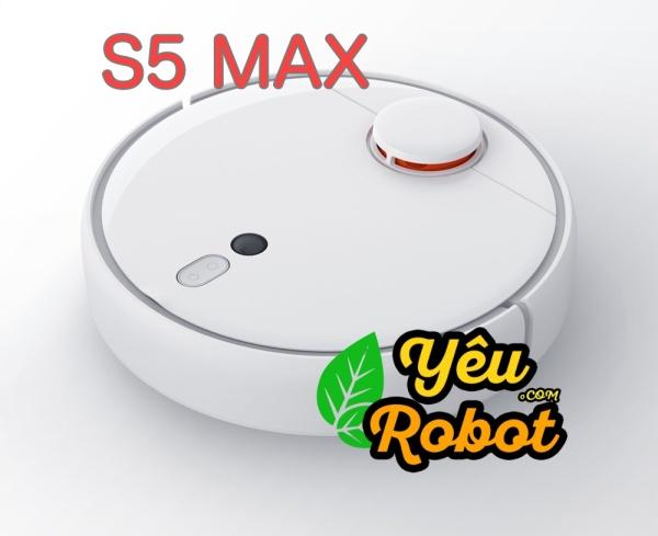[XIAOMI ROBOROCK S5 MAX] Robot Hút Bụi Lau Nhà Bản Quốc Tế Chính Hãng NEW 100%