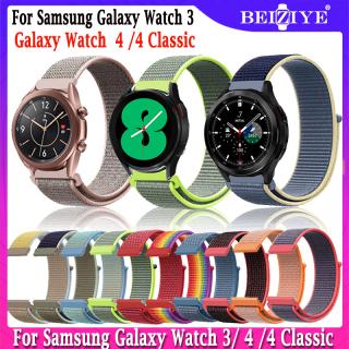 Dây Nylon 20Mm 22Mm Đối với Samsung Galaxy Watch 4 4 Classic Vòng Đeo Tay Thay Thế Cho Samsung Galaxy Watch 3 41Mm 45Mm Dây Đeo Đồng Hồ Dệt Thay Thế thumbnail