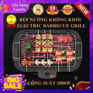 Bếp nướng không khói Electric công suất 2000W, kiểu dáng thiết kế nhỏ gọn, an toàn tuyệt đối, Bảo hành 12 tháng thumbnail