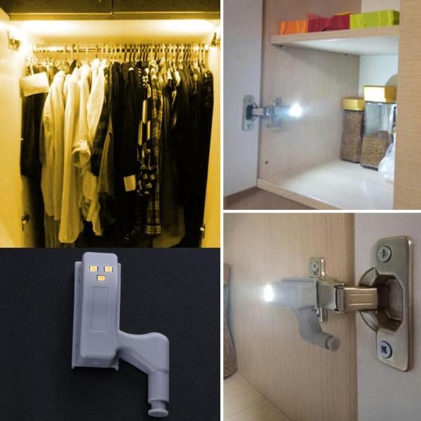 Đèn Led cảm biến tủ quần áo bật tắt khi mở cửa SK241