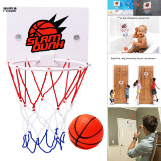 Children Kids Mini Basketball Hoop Toys Suck Wall-Mounted Stand with Pump Sport Toy Set BELIEVE IN YOU thumbnail