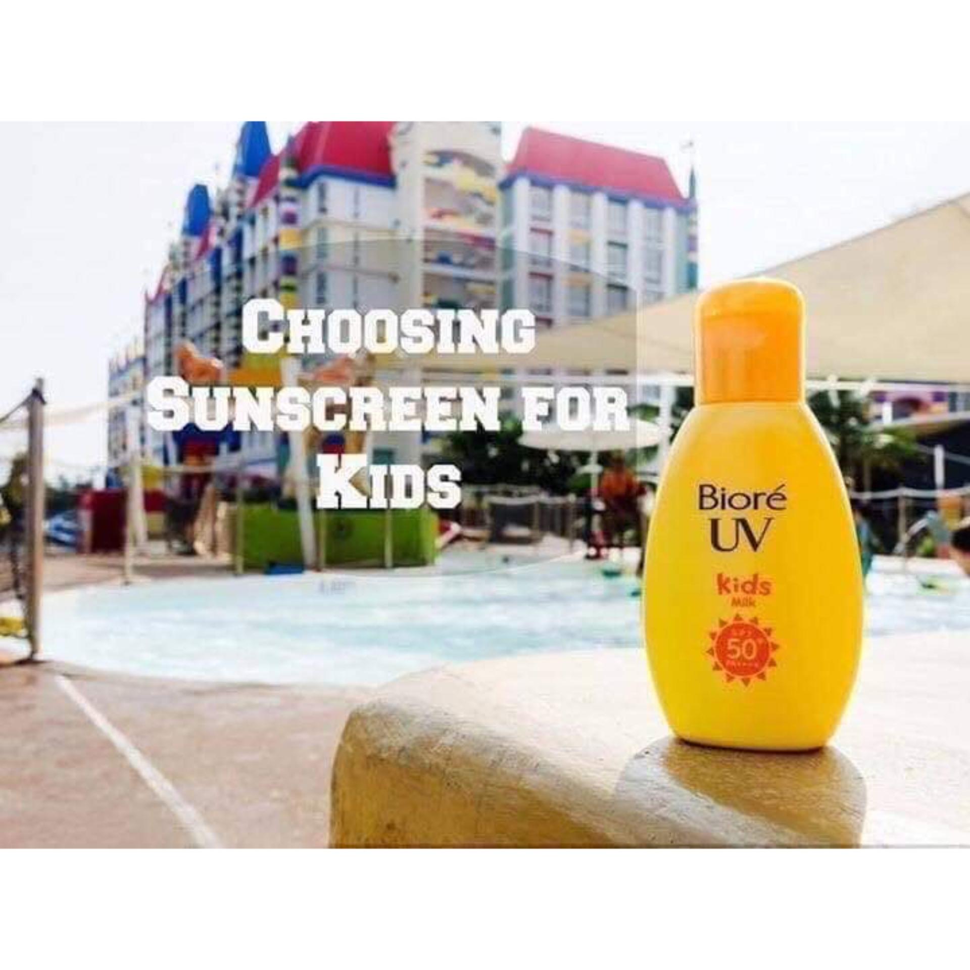 Sữa chống nắng Trẻ em Biore UV Kid Milk cao cấp